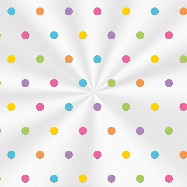 Saco Decorado Colors - 10x14cm - 100 unidades - Cromus - Rizzo Embalagens