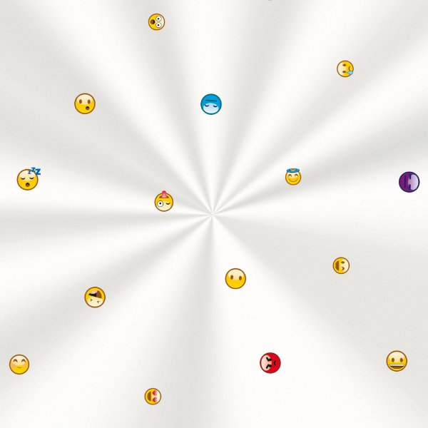 Saco Decorado Emotions - 20x29cm - 100 unidades - Cromus - Rizzo Embalagens