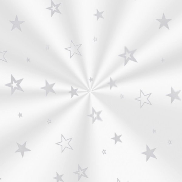 Saco Decorado Estrela Prata - 20x29cm - 100 unidades - Cromus - Rizzo Embalagens