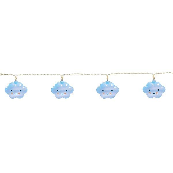 Varalzinho De Led Nuvem Azul Festa Pedacinho Do Céu - Cromus - Rizzo Festas