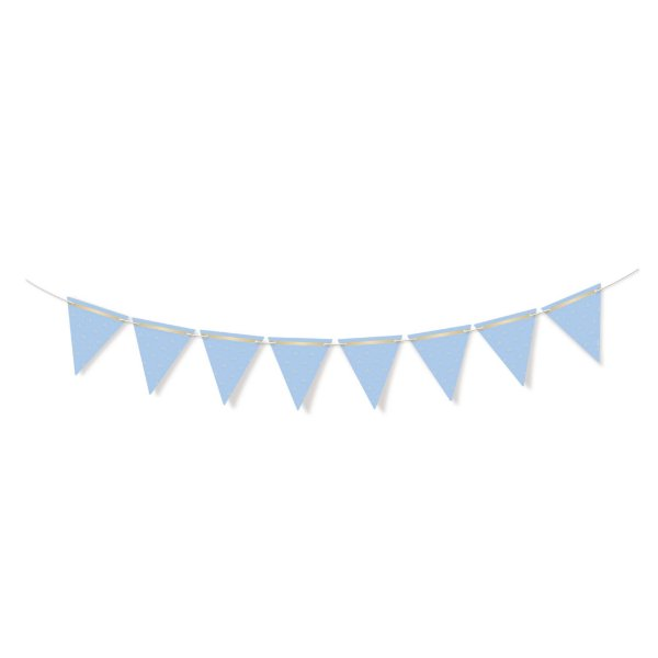 Faixa Decorativa Bandeirola Azul Festa Reinado do Príncipe - Cromus - Rizzo Festas