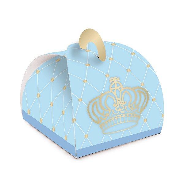 Caixa Bem Nascido Valise Coroa Festa Reinado do Príncipe 24 unidades - Cromus - Rizzo Festas