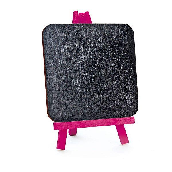 Lousa para Personalizar Cavalete Pink - 01 unidades - Cromus - Rizzo Festas
