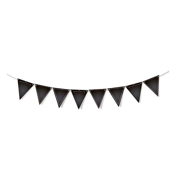 Lousa para Personalizar Faixa Decorativa de Papel - 01 unidade - Cromus - Rizzo Festas