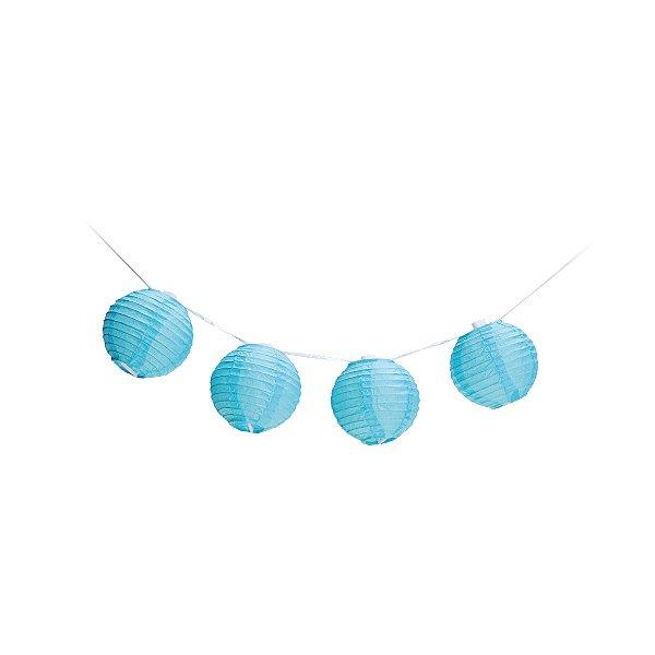 Varalzinho de Globos Azul - 01 unidade - Cromus - Rizzo Festas