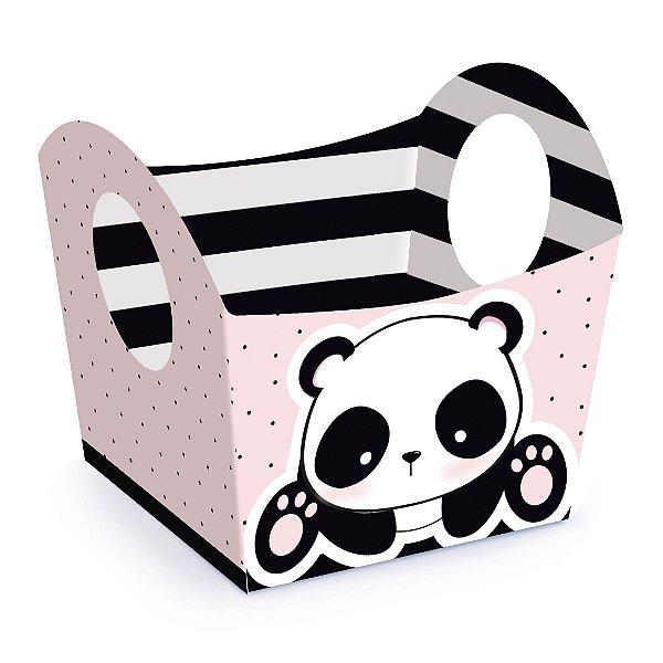 Mini Cachepot Festa Panda - 10 unidades - Cromus - Rizzo Festas