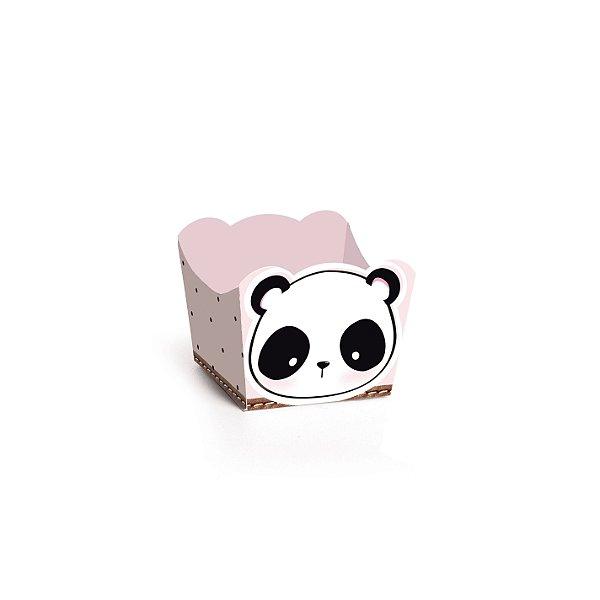 Forminha para Doces Cachepot Festa Panda - 24 unidades - Cromus - Rizzo Festas