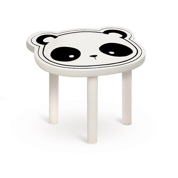 Banquinho De Madeira G Festa Panda - Cromus - Rizzo Festas
