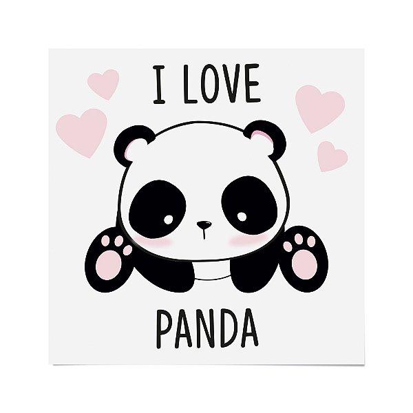 Transfer para Camiseta Festa Panda - Cromus - Rizzo Festas