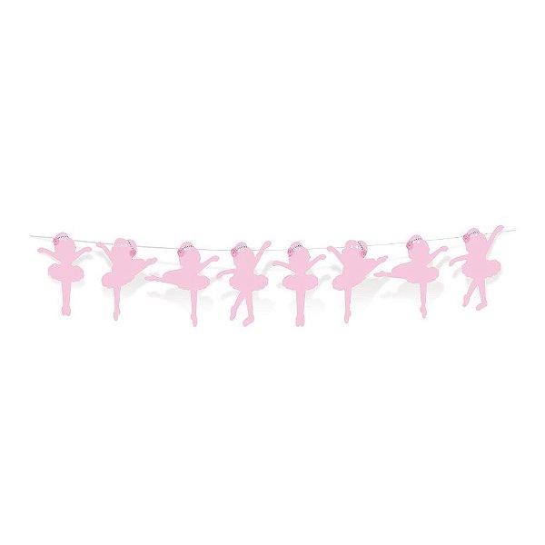 Faixa Decorativa Princesa Festa Bailarina - Cromus - Rizzo Festas