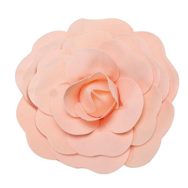 Flor Decorativa Pêssego 30cm - 01 unidade - Cromus - Rizzo Festas