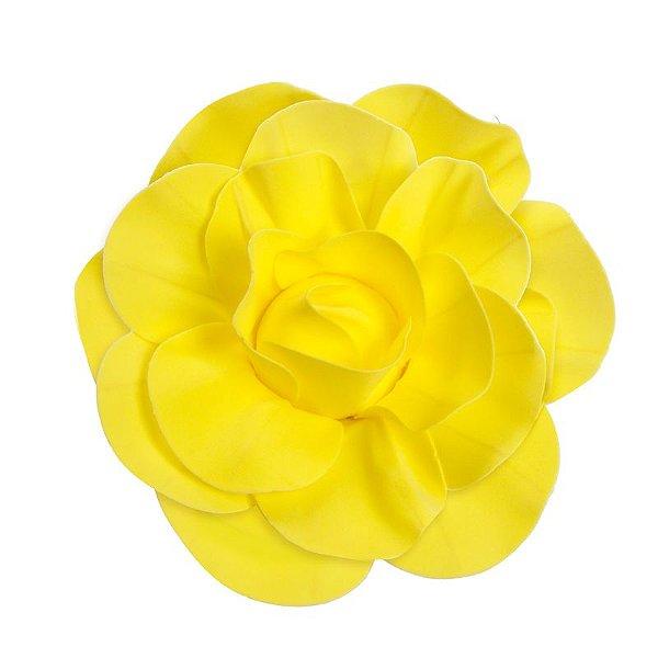 Flor Decorativa Amarelo 30cm - 01 unidade - Cromus - Rizzo Festas
