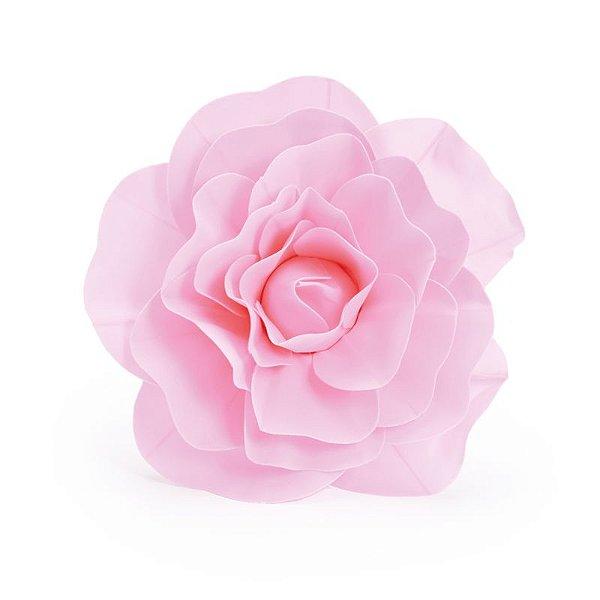 Flor Decorativa Rosa 30cm - 01 unidade - Cromus - Rizzo Festas