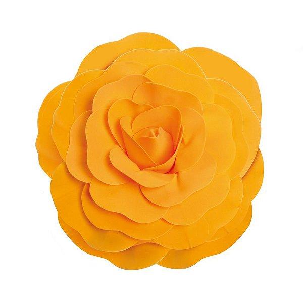Flor Decorativa Laranja 40cm - 01 unidade - Cromus - Rizzo Festas