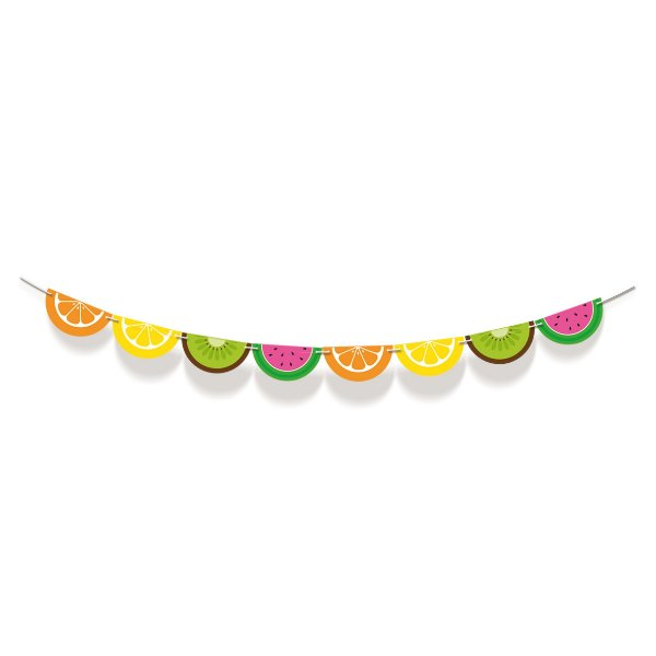 Faixa Decorativa Frutas Festa Quitandinha - Cromus - Rizzo Festas