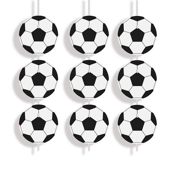 Cortina Decorativa Festa Futebol - 6 unidades - Cromus - Rizzo Festas
