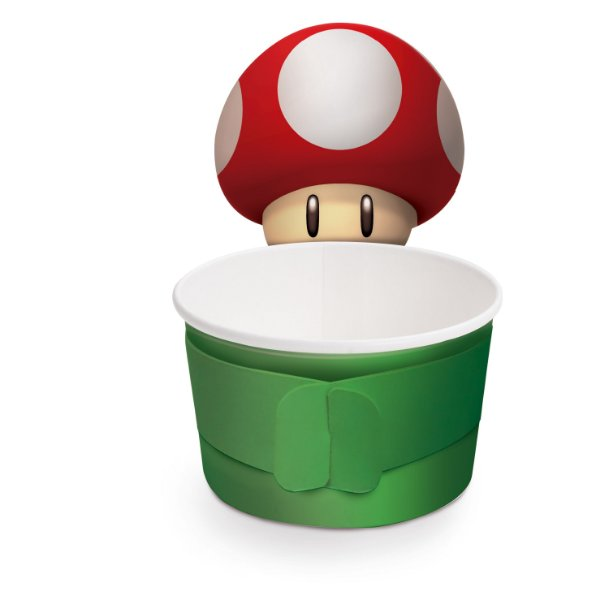 Copinho para Doces de Papel Festa Super Mario - 08 unidades - Cromus - Rizzo