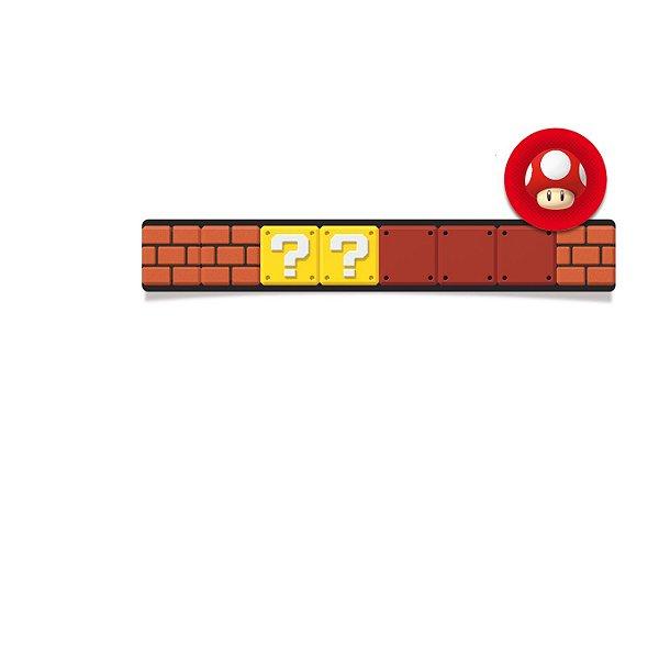 Adesivo Retangular para Lembrancinha Festa Mario - 20 unidades - Cromus - Rizzo Festas