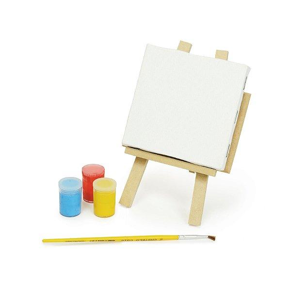 Mini Cavalete p Pintura Lembrancinha Festa Cores - Cromus - Rizzo Festas