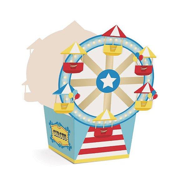 Cachepot Roda Gigante Festa Circo - 8 unidades - Cromus - Rizzo Festas