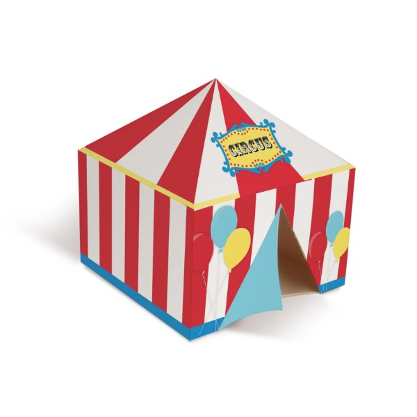 Tenda Decorativa de Papel Festa Circo - Cromus - Rizzo Festas