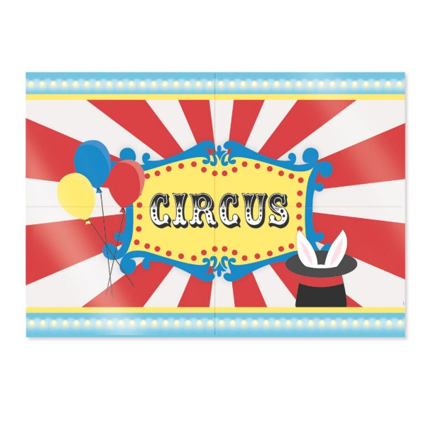Painel Decorativo Festa Circo - Cromus - Rizzo Festas