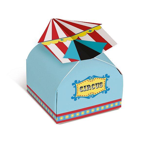 Caixa Bem Casado Festa Circo 24 unidades - Cromus - Rizzo Festas