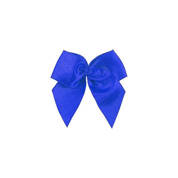 Laço Cetim Gordinho - Azul Royal - 50 unidades - Rizzo Embalagens