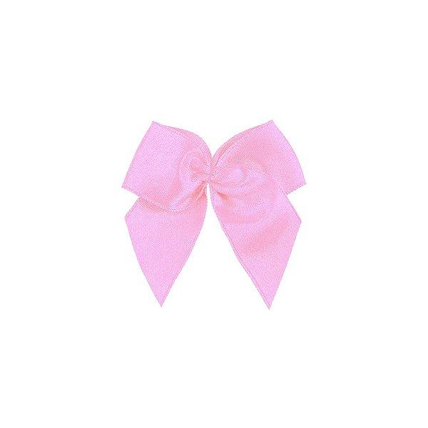 Laço Cetim Gordinho - Rosa Bebê - 50 unidades - Rizzo Embalagens