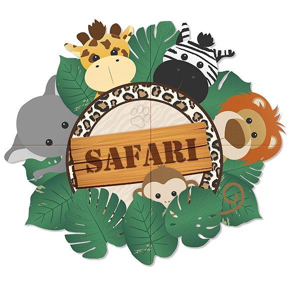 Painel Decorativo Festa Safari - Cromus - Rizzo Festas