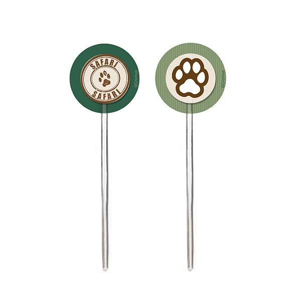 Pick P/Cupcake Safari Sortido Uv 10X12