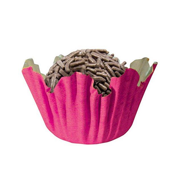 Forminhas para Doces N° 3 Recortada Pink com 100 unidades Mago Rizzo Embalagens