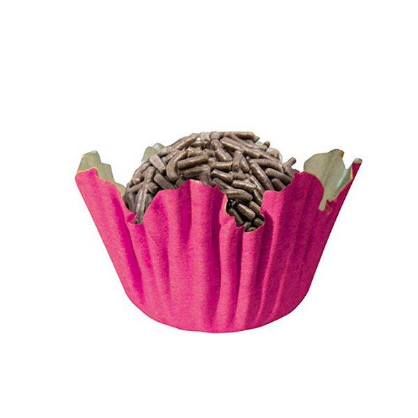 Forminhas para Doces N° 4 Recortada Pink com 100 unidades Mago Rizzo Embalagens