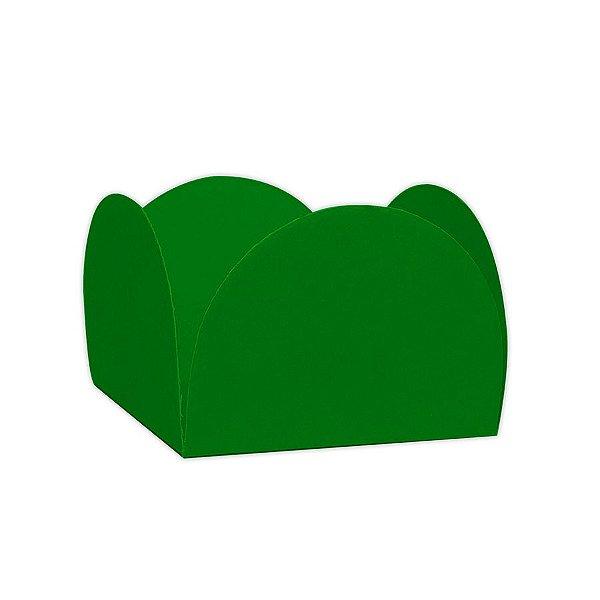 Forminhas para Doces 4 Pétalas Verde Bandeira 50 unidades NC Toys Rizzo Embalagens