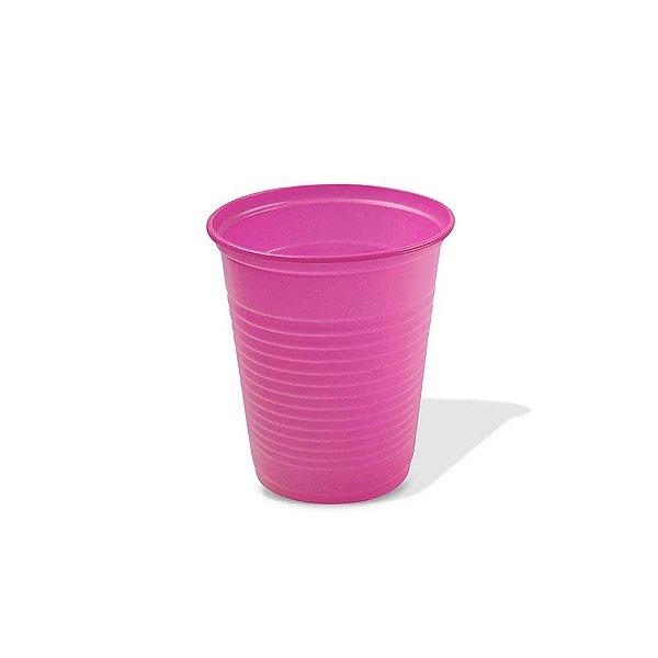 Copo Festa Descartável 200ml Rosa Pink 50 unidades Trik Trik Rizzo Embalagens