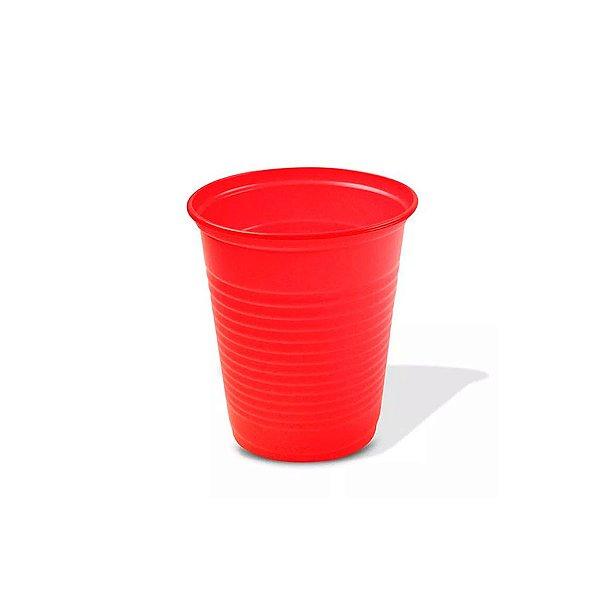 Copo Festa Descartável 200ml Vermelho 50 unidades Trik Trik Rizzo Embalagens