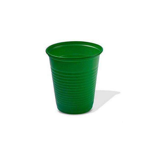 Copo Festa Descartável 200ml Verde Escuro 50 unidades Trik Trik Rizzo Embalagens