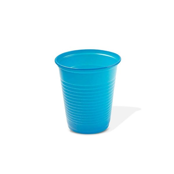 Copo Festa Descartável 200ml Azul Claro 50 unidades Trik Trik