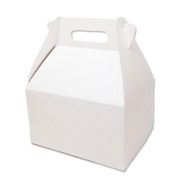 Caixa Sacolinha S11 (15,9cm x 17cm x 10,2cm) Branca 10 unidades Assk Rizzo Embalagens