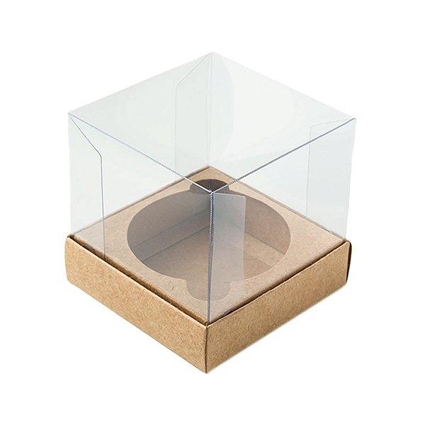 Caixa Mini Bolo GG (10cm x 10cm x 10cm) Kraft 10 unidades Assk Rizzo Embalagens
