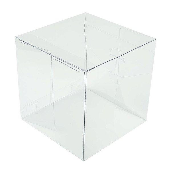 Caixa Cubo Transparente K8 (10cm x 10cm x 10cm) 20 unidades Assk Rizzo Embalagens