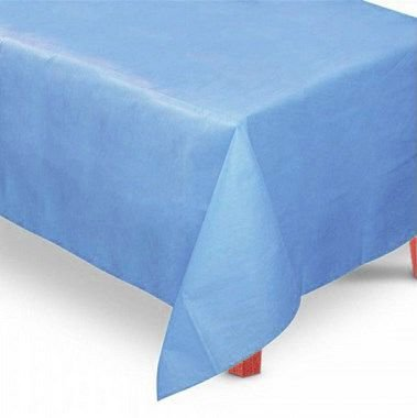 Toalha de Mesa Retangular em TNT (1,40m x 2,20m) Azul Claro - Best Fest - Rizzo Embalagens
