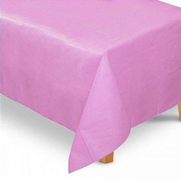 Toalha de Mesa Retangular em TNT (1,40m x 2,20m) Rosa Claro - Best Fest - Rizzo Embalagens