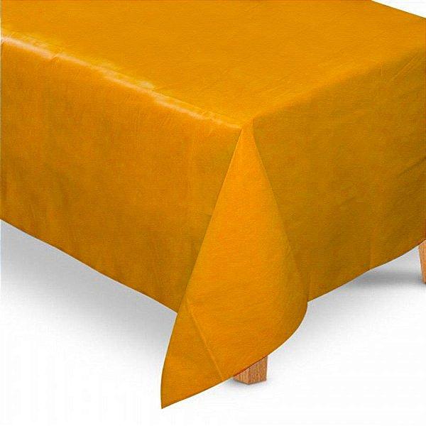 Toalha de Mesa Retangular em TNT (1,40m x 2,20m) Laranja - Best Fest - Rizzo Embalagens