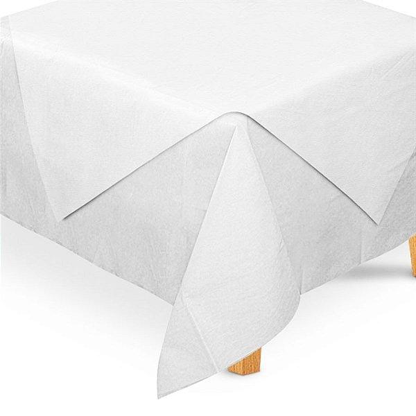Toalha de Mesa Quadrada Cobre Mancha em TNT (70cm x 70xm) Branca 5 unidades - Best Fest - Rizzo Embalagens