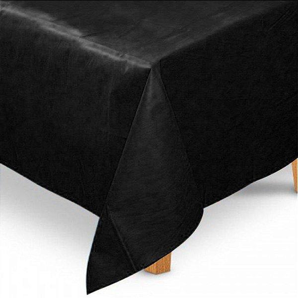 Toalha de Mesa Quadrada em TNT (80cm x 80cm) Preta 5 unidades - Best Fest