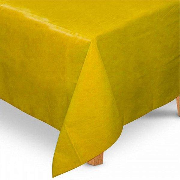 Toalha de Mesa Quadrada em TNT (80cm x 80cm) Amarela 5 unidades - Best Fest - Rizzoembalagens