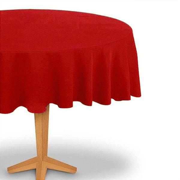 Toalha de Mesa Redonda em TNT (Diâmetro 130cm) Vermelha - Best Fest - Rizzoembalagens