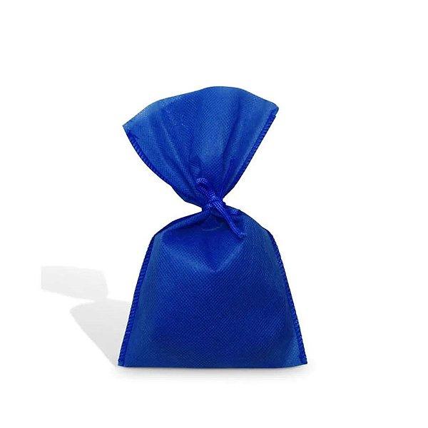 Saquinho para Lembrancinha em TNT (13cm x 25cm) Azul Royal 10 unidades - Best Fest - Rizzoembalagens