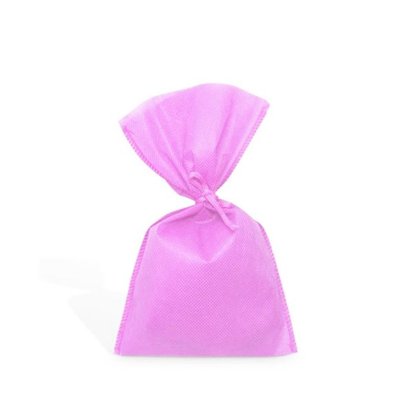 Saquinho para Lembrancinha em TNT (13cm x 25cm) Rosa Claro 10 unidades - Best Fest - Rizzoembalagens
